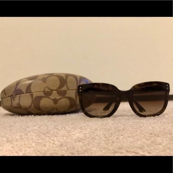 Coach Casey Sunglasses in Tortoise
